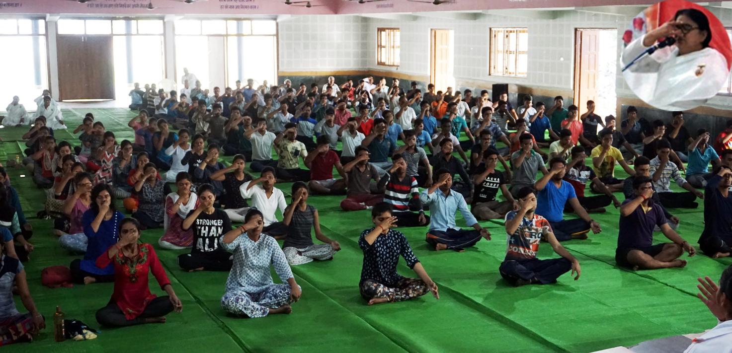 Yog Shivir at Gurunanak School_Day-1