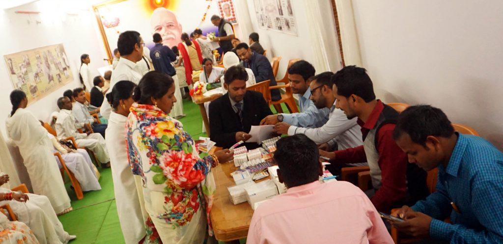 टिकरापारा(छत्तीसगढ़) : निःशुल्क स्वास्थ्य जांच शिविर का आयोजन