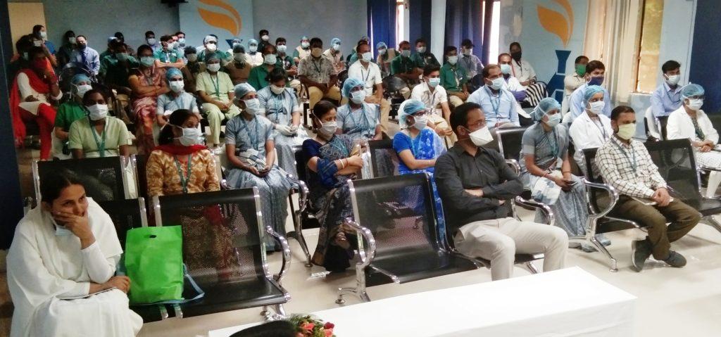 अपोलो हाॅस्पीटल स्टाफ के लिए दो दिवसीय आध्यात्मिक सत्र का आयोजन, ब्रह्माकुमारीज़ को किया आमंत्रित...